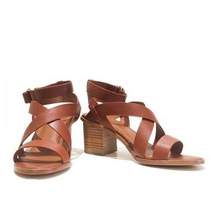 Joie Maine Strappy Sandals in Cuoio Sz 35.5